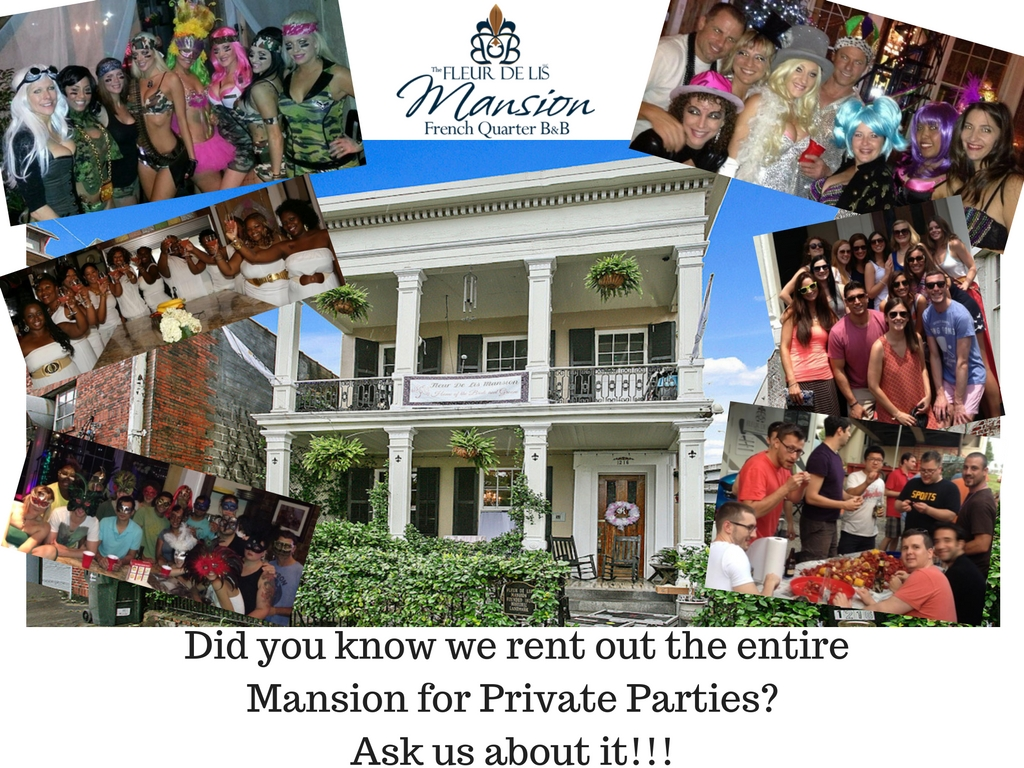 Vacation | Rental | New Orleans | Book the Entire Mansion